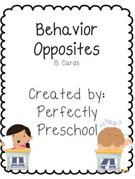 Behavior Opposites