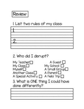 Behavior Packet-Quarter 1