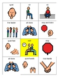 Behavior Picture Cards