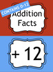 Math Fact Fluency Addition Clip Chart System