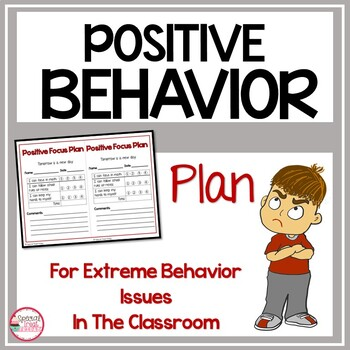 Positive Focus Behavior Plan PBIS