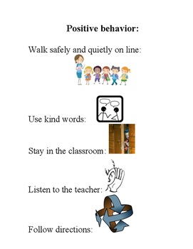 Behavior Plan Clip Art