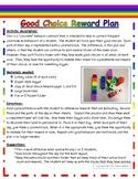 Behavior Plan-Good Choices Rainbow Towers