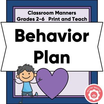 Behavior Plan Grades 2-6