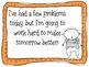 Behavior Plan for 2nd Grade