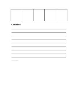 Behavior Plan for Primary Grades