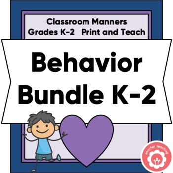 Behavior Plan Bundle Grades K-2