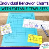 Individual Behavior and Reward Charts (editable!)