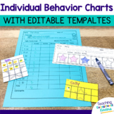 Individual Behavior Charts with Editable Templates