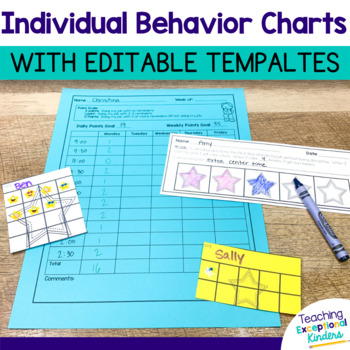 Behavior Point Sheet (editable!)