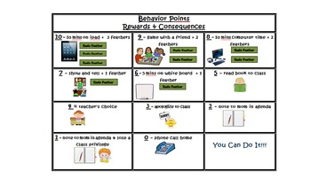 Behavior Points for Rewards and Consequences