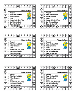 Behavior Punch Card