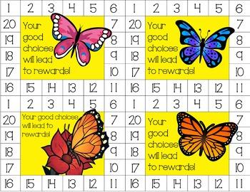 Behavior Punch Card Bundle