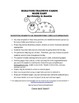 Behavior Punch Card and Coloring Page
