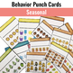 Behavior Management Punch Cards for All Year