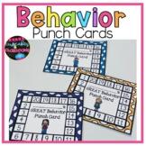 Positive Individual Behavior Charts Behavior Punch Cards B