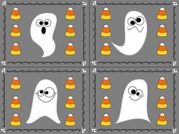 "Behavior Punch Cards (""Boo"" Behavior for Halloween)"