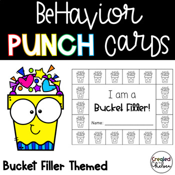 Behavior Punch Cards {Bucket Filler!}