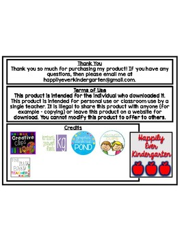 Behavior Punch Cards Cupcake Themed