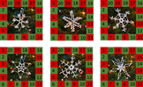 Behavior Punch Cards - Mary's Snowflakes Set 2