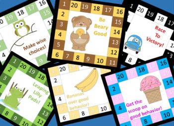 Behavior Punch Cards Set 1