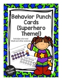 Behavior Punch Cards (Superhero)
