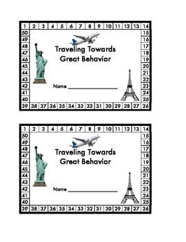 Behavior Punch Cards and Reward Tickets