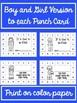 Behavior Punch Cards for All Seasons
