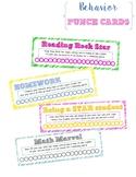 Behavior Punch Cards {rewards & incentives}