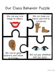 Behavior Puzzles- An Alternative Behavior Plan