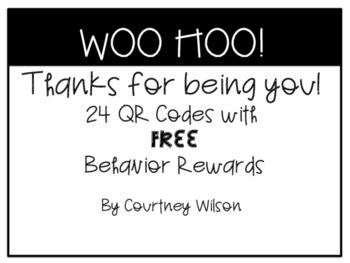Behavior QR Code FREE Rewards
