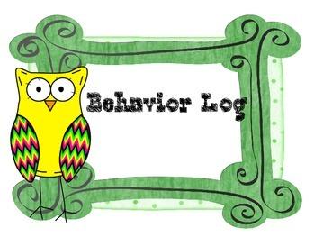 Behavior Rating Log