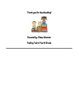 Behavior & Reading Log Combo!