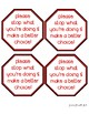 Behavior Redirection - Stop Sign - Make a Better Choice