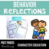 Behavior Reflection, Apology Letter