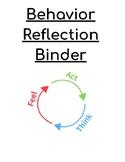 Behavior Reflection Binder