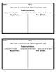 Behavior Reflection Cards