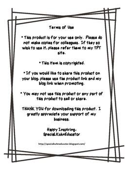 Behavior Reflection FREEBIE!