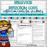Classroom Management: Behavior Reflection Logs