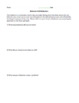 Behavior Reflection Sheet (editable)