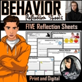 Reflection Sheets - BEHAVIOR (5)
