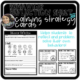 Behavior Reflection and Calming Strategies