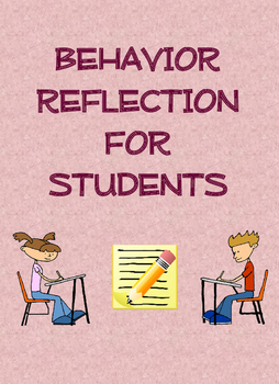 Behavior Reflection for Students