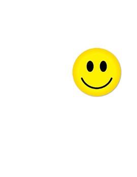 Behavior Reinforcer - Smily Face/Frown Face