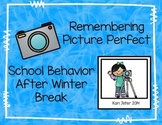 Behavior Reminder After Winter Break
