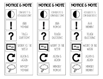 Notice & Note Bookmarks