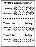 Behavior Report Card K-2