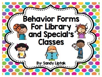 Behavior Report for Library and Special's Classes