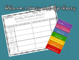 Behavior Reports and Clip Chart BUNDLE