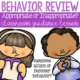 Appropriate Behavior: Making Good Choices Classroom Guidan